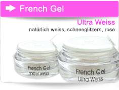 French Gel weiss