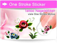 One Stroke Sticker