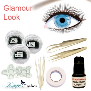 Glamour Look Wimpern Set