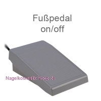 Elektrische Feile Fußpedal on/off