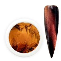 Magnet 3D Farbgel brown gold 5g/4,34ml